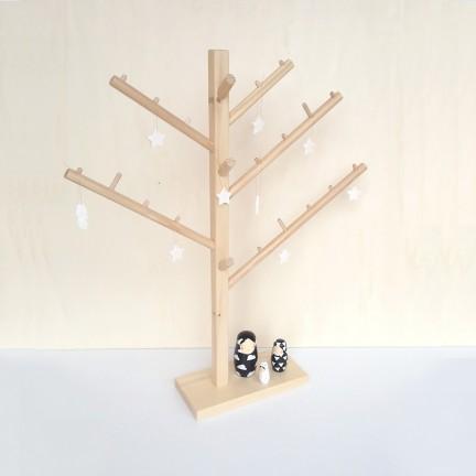 Mini Arbre décoratif en bois naturel