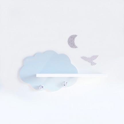 Etagère murale Nuage Bleu Glaçon