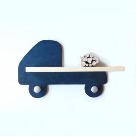 Etagère murale Camion Bleu foncé