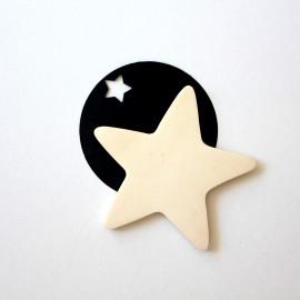 Magnet étoile et fusée