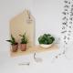 Petite maison minimaliste en bois