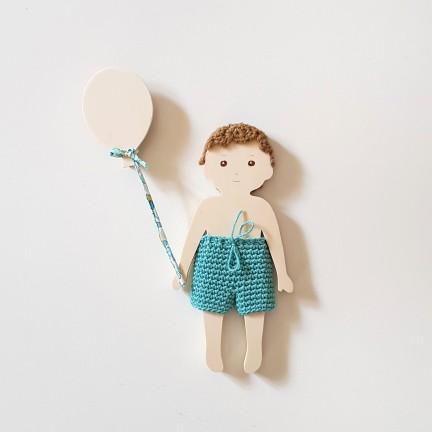 Pince Petit Ballon en bois