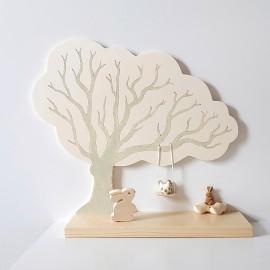 Mini étagère Chêne vert