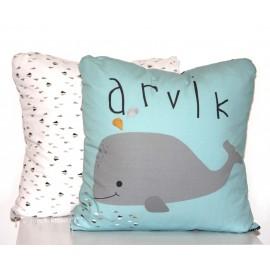Coussin Arvik la baleine