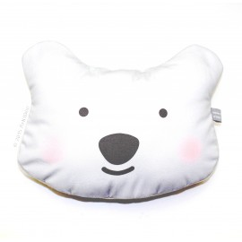 Coussin-câlin Ours Blanc